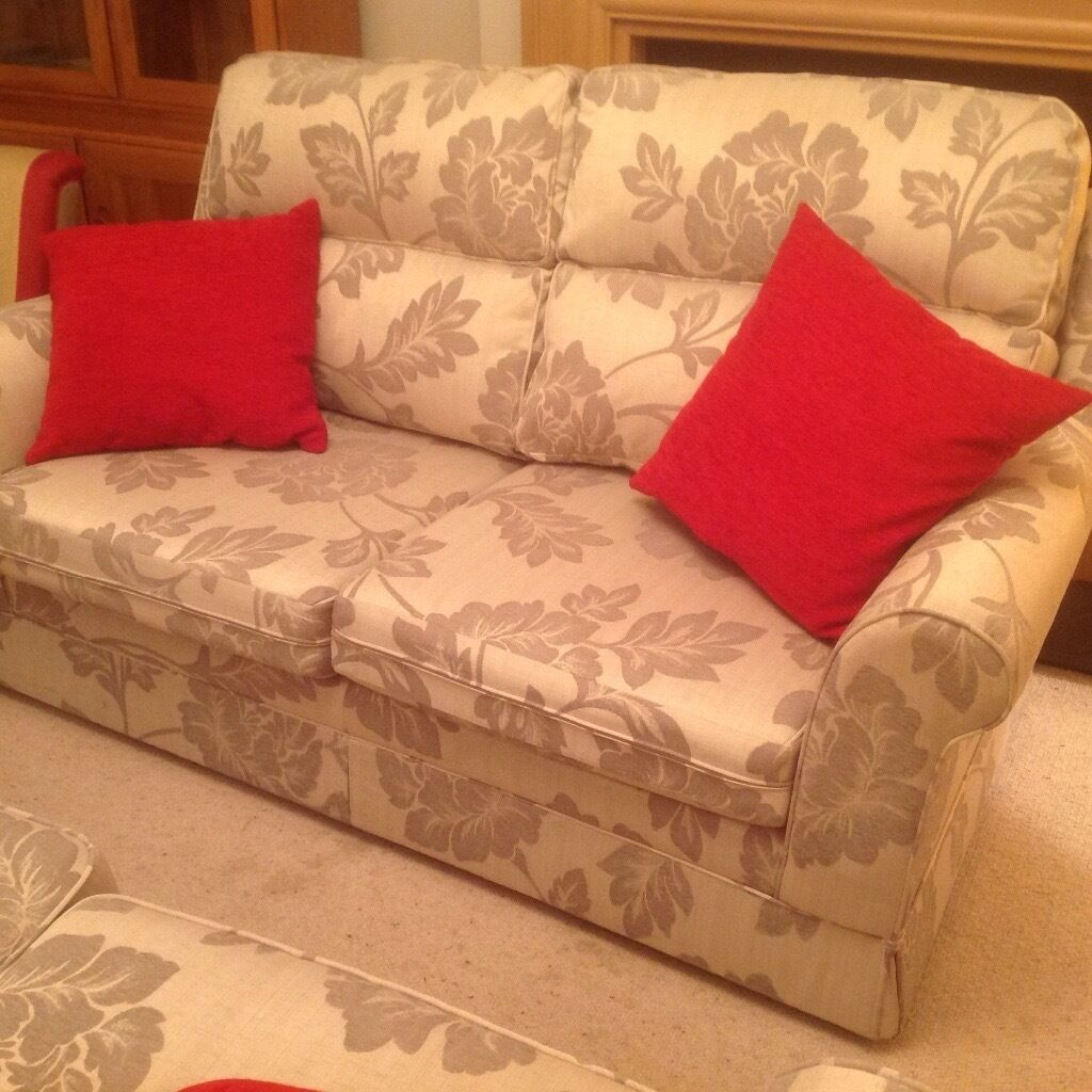 Two 2 seater sofas immaculate