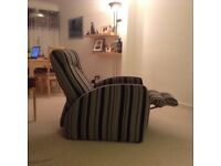Reclining chair. Great condition Modern design