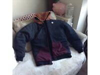 Billabong coat size large