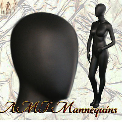 Sexy Busty Mannequin Full Body Hand Made Charcoal Gray Display Manikin