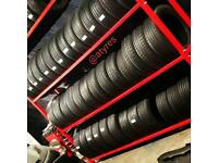 High Quality Grade A Part Worn Tyres 6mm-8mm HARDLY USED (A Tyres) FITTING IN LIMEHOUSE E1W3EP