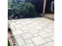 patio slabs, paving slabs, trade pack or individual £130 for 10 meters squared