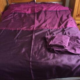 Next purple bedding