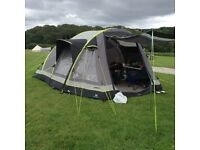 CIrrus 6 Hi Gear Airgo Tent plus extras & equipment. Used for 2 nights only. ^*^*^* Bargain*^*^*^