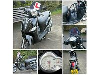 Yamaha XC 115 S Delight Moped, one lady owner from new, 1816 miles, accessory pack