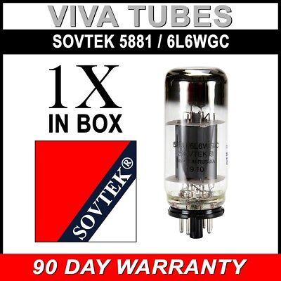 Brand New Plate Current Tested Sovtek 5881 / 6L6WGC Vacuum Tube