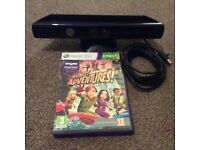 Xbox 360 Kinect and Kinect adventures in excellent condition