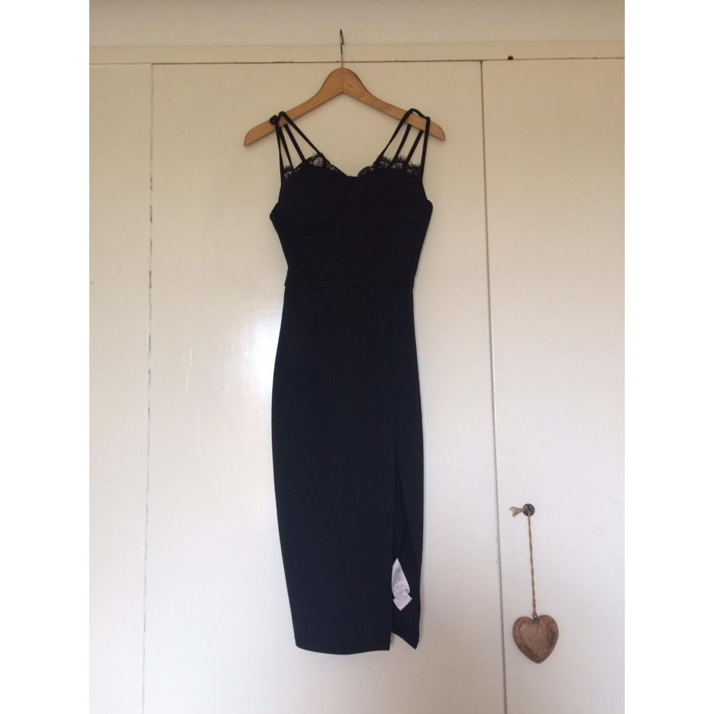 Bodycon dressin Paddock Wood, KentGumtree - Womens bodycon dress, black, lace serial, Pink Boutique, worn once, great quality