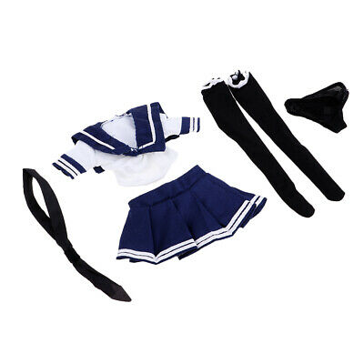 1/6 Skala Blau Weiß JK Uniform Sailor Outfits - Weiblich Sailor Outfit
