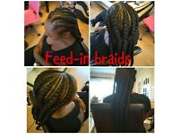 Afro Hairdresser- Special offers on weaves and braids!