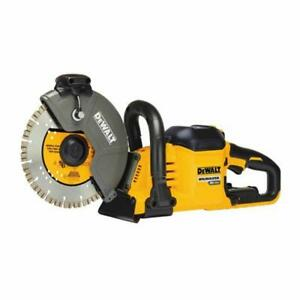 DeWalt DCS690X2 FLEXVOLT® 60V MAX* Cordless Brushless 9 IN. Cut-Off Quick Cut Concrete Saw BARE TOOL ONLY