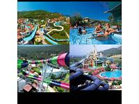 2 weeks All Inclusive for 4 people Aqua Fantasy Turkey