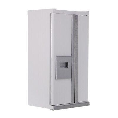 Puppenhaus Miniatur Küchenmöbel Kühlschrank Kühlschrank Maßstab 1:12 ()