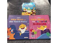 Baby shark children's books
