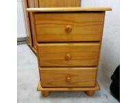 Bedside solid wood