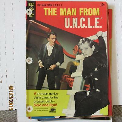 Man from U.N.C.L.E. 7 VG/FN 3 hole punches SKU15380 60% Off!