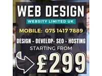 Website Designer  Logo & Graphic Design   100% Personalised Service Guaranteed