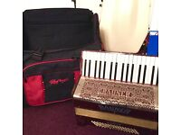 vintage rauner ariola accordion 80 bass