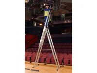 Brand new 3x10 A Frame Ladders