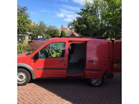 Ford 200L connect van 2006 Red.