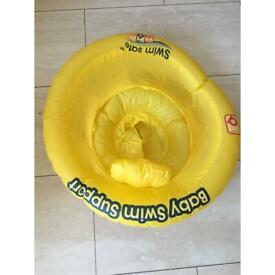 Baby swim support float