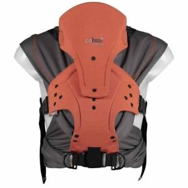 Close Caboo DX+ Merino multi position baby carrier Perfect for winter RRP: £100