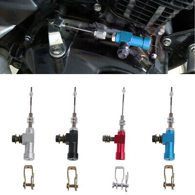Motorcycle Hydraulic Clutch Master Cylinder Brake Rod Pump M10x1.25mm Aluminum
