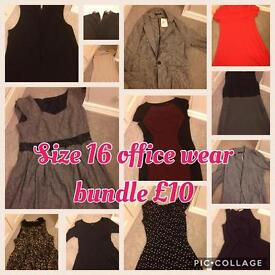 SOLD Size 16 massive office wear bundle