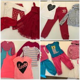 Beautiful girls clothes bundle 8-9