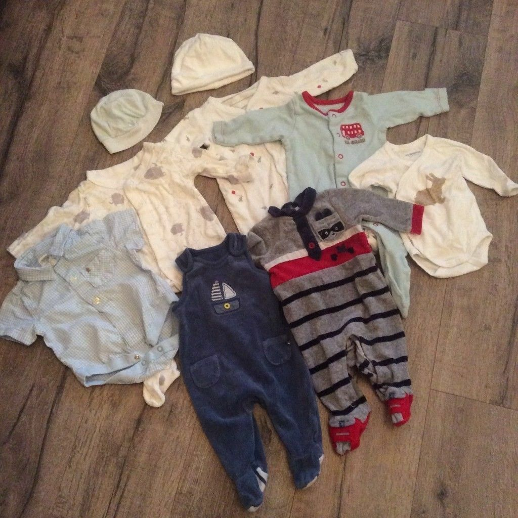 499a49655124 Newborn Baby Boy Clothes Bundle (9 items) Next