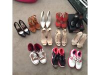 Job lot size 4 shoes and trainers