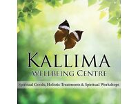 Kallima Wellbeing Centre - Spiritual Workshops, Classes, Holistic Therapies and Shop