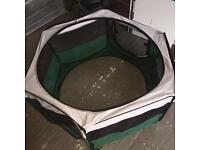 Foldable Animal play pen used once
