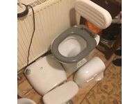 Disabled toilet and sink with fittings - Free