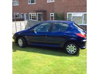 """""""""""SOLD SUBJECT TO COLLECTION """""""" Peugeot 206 SE 1.6 Petrol 2004 """"54"""" Plate L@@K"""