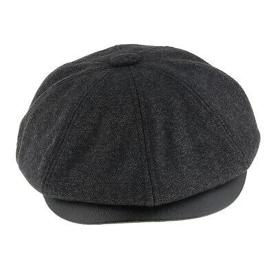 1920s Male Fashion (Mens Fashion Wool Newsboy  Style 1920s Gatsby Flat Cap)
