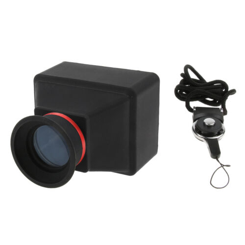 For Canon Nikon Sony DSLR Camera Viewfinder Magnifier 3X 3.0