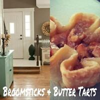 Broomsticks and Butter Tarts