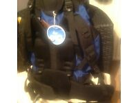 Large rucksack, many pockets, as new, used once £15