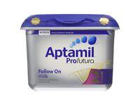 Brand new a tub of baby formula milk powder, still sealed tub - Aptamil follow on milk 2, 800g
