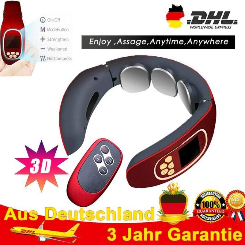 Massagegerät Nacken Schulter Elektrisch Massager Halswirbel USB 3D Wärmefunktion