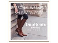 Seasonal Weekend Sales Advisors