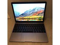 "Space Grey Early 2016 MacBook Retina 12"" 1.3gh M7 8GB Ram 256GB SSD"