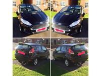 Ford Fiesta 1.6 ZETEC Automatic 2014 - 17900 miles - FSH - Black £7650