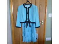 Size 10 brand new dress suit - perfect for a Spring wedding. Never worn