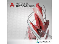 AUTODESK AUTOCAD 2018 PC/MAC (PERMANENT)