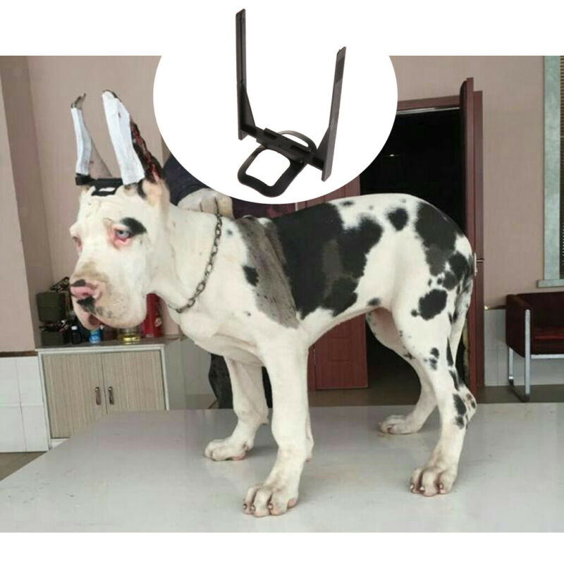Plastic Dog Ear Care Tool Ear Stand Up for Doberman Pinscher Samoyed, Great Dane