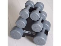 DUMBBELL TREE / WEIGHTS, DUMBBELLS