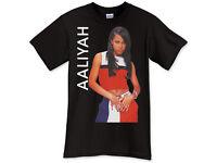 Aaliyah Hip Hop Black T-Shirt TShirt Tee