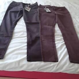 Dorothy Perkins ladies super skinny jeans